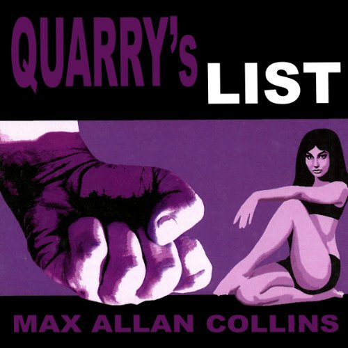 Quarry's List audiobook cover art
