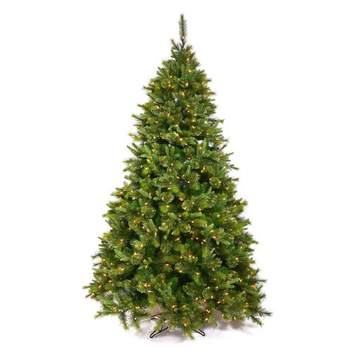 Vickerman 75' Cashmere Pine Artificial Christmas Tree with 700 Multi-colored LED lights