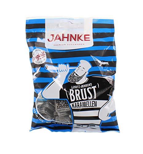 Jahnke - Brustkaramellen Lakritzbonbons - 150g