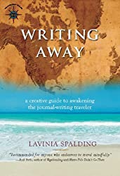Lavinia's travel journaling book, Writing Away