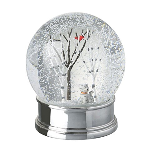 Katze Snow Globe