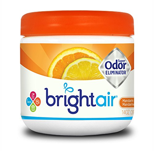 BRIGHT Air Odor Eliminator - Mandarin Orange and Fresh Lemon , 14 Ounce Jar