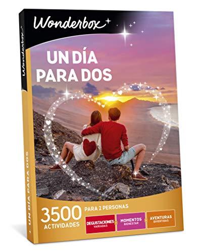 WONDERBOX Caja Regalo día de la Madre -UN DÍA para Dos- 3.500 Actividades para Dos Personas