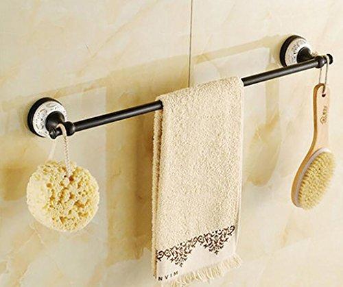 FAFZ Porte-serviette de style européen, accessoires de salle de bains en bronze, serviette antique (couleur : # 6)
