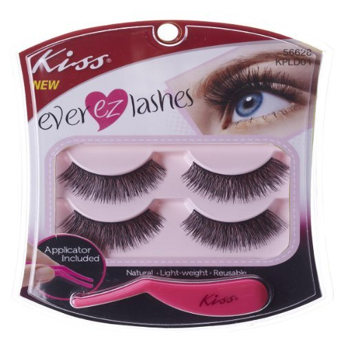 Kiss Products No. 05 Ever EZ Lashes, 4 Count by \
