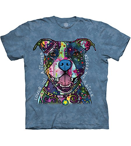 The Mountain Russo Kisser T-Shirt, 4X-Large, Blue