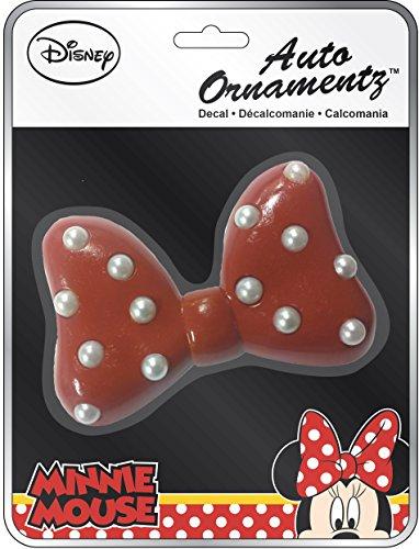 Chroma 48010 Minnie Mouse Red Bow Auto Ornamentz