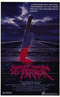 Pop Culture Graphics Night Train to Terror Poster Movie 11x17
