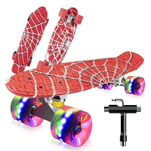Monopatín Completo Mini Cruiser Skateboard 22