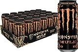 Monster Mule, Ginger Brew, Energy Drink, 16 Ounce (Pack of 24)