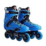 YSCYLY Rollerskates,Patins Plats Fantaisie pour Adultes,Patins à roulettes Confortables pour Les Filles Et Les GarçOns