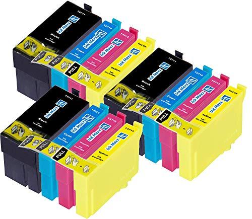 Ink Maxx – Cartucho de tinta refabricado para usar en lugar de Epson 27XL (/ / / pack de 12)