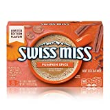 Swiss Miss Pumpkin Spice Flavored Hot Cocoa Mix Packets, 1.38 Oz. 8Count (Pack Of 12)