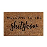 Welcome Mats for Front Door,Super Soft Smooth Surface Carpet Rug,Entrance Rugs,Machine Washable Durable Non-Slip Outdoor Floor Mats,Living Room Sofa Decor