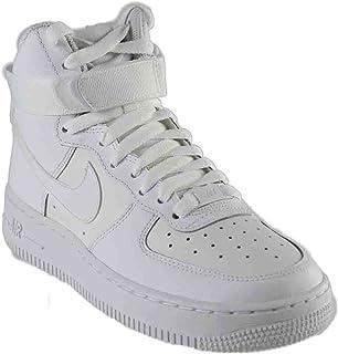 Scarpe sportive Uomo Donna Nike Air Force Hi Pelle Col. Nero 366731 001 43