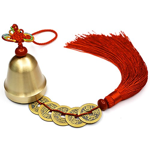 Lalago Chinese Feng Shui Bell for Wealth and Safe,...
