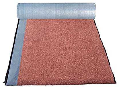 Foto di Guaina Bituminosa Ardesiata - Autoadesiva e Impermeabilizzante - ROTOLO DA 10 METRI - alta prestazione - Colore Rossa