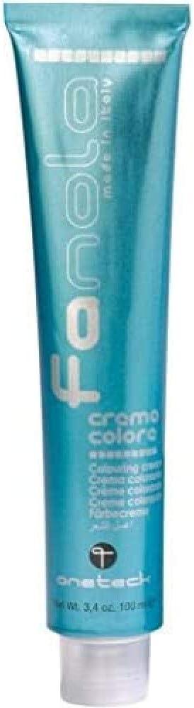 Fanola Tinte Corrector Violeta 100 mL - Tinte crema colorante permanente para el cabello pelo - Color uniforme y brillante - PROFESIONAL | ...