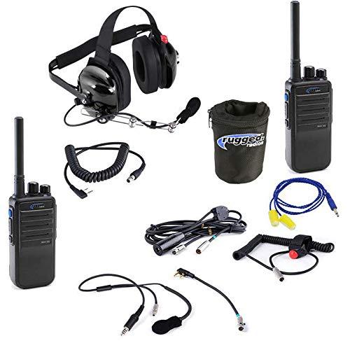 Review Rugged Radios IMSA-RDH-16-V VHF IMSA Racing Driver & Crew Chief System - Includes 2 RDH16 Rad...