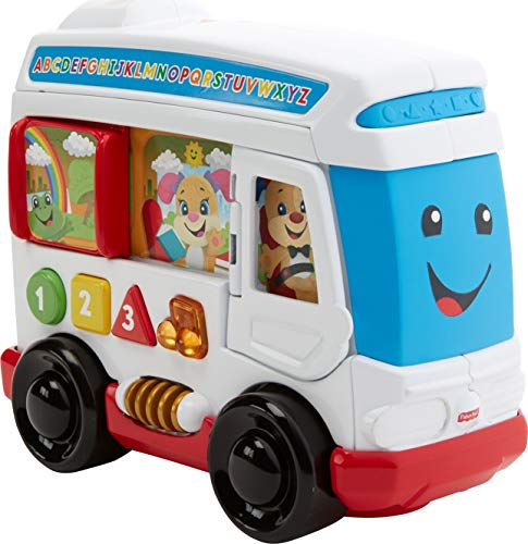 Fisher-Price Laugh & Learn Around Town Bus $7.50 + Free Shipping w/ Amazon Prime or Orders $25+