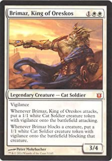 Magic The Gathering - Brimaz, King of Oreskos (5/165) - Born of The Gods