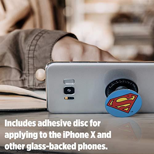 PopSockets: Ausziehbarer Sockel und Griff für Smartphones und Tablets - Superman Icon
