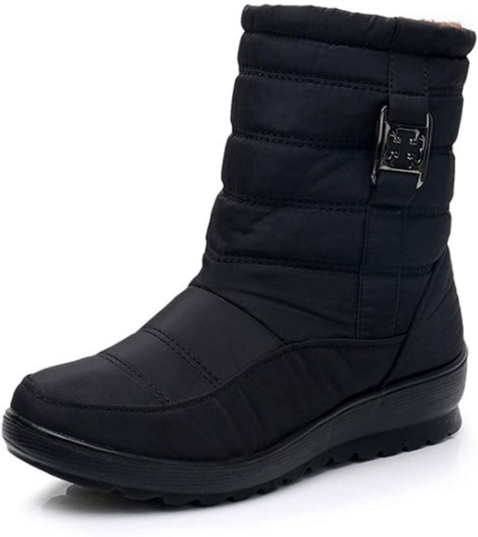 Reservation Huicai women's snow boots winter ladies ankle zipper Product boot shorts