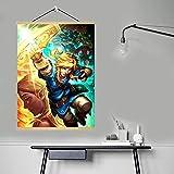 Wfmhra Leinwand Dekoration Spiel The Legend of Zelda Poster