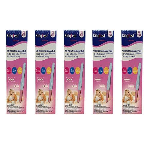 Find Bargain (5piece) Pregnancy Test Early Pregnancy Test The Best hcg Urine Pregnancy Test…