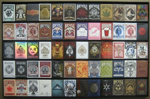 The Playing Card Frame - 60 Deck Ac…