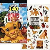 Peachtree Playthings Disney Lion King Tattoo Book - Over 140 Tattoos