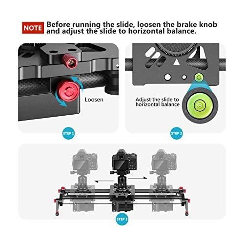 Neewer『カメラ用電動スライダー』
