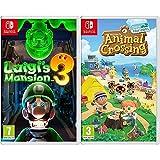 Nintendo LUIGI'S MANSION 3 (NS) + Animal Crossing: New Horizons ( Switch)