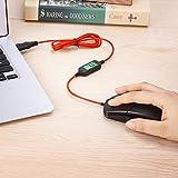 USB Beheizte Maus, Beheizte Computer Maus, Hand Wärmer (Schwarz) - 5