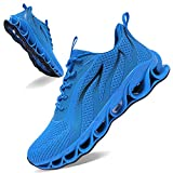 APRILSPRING Mens Running Sneakers Walking Exercise Gym Jogging Shoes Size 13 Sky Blue Casual Mesh Treadmill Hiking Sports Track and Field Tennis Comfortable Shoes 47