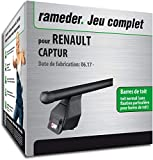 Rameder Pack Barres de Toit Tema pour Renault CAPTUR (144972-11232-1-FR)