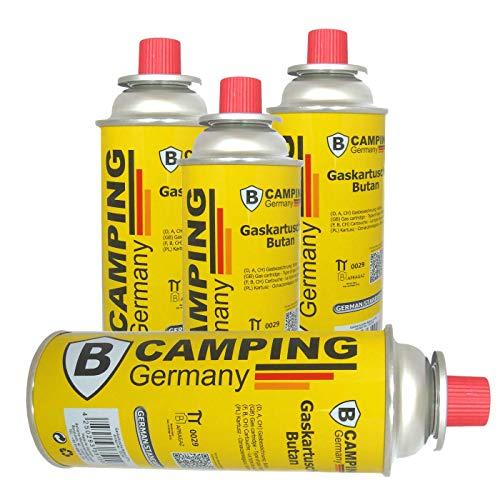 Beste Angebote Butan Gas Kartusche Gaskartuschen Bunsenbrenner Campingkocher Gaskocher 227g (4)