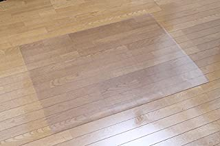 床を保護する チェアマット 120×90cm 1.5mm厚 クリア RCM-120 床暖房 対応 フローリング 畳み 保護