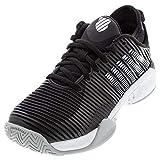 K-Swiss Women's Hypercourt Supreme Tennis Shoe (Black/White/High-Rise, 8)