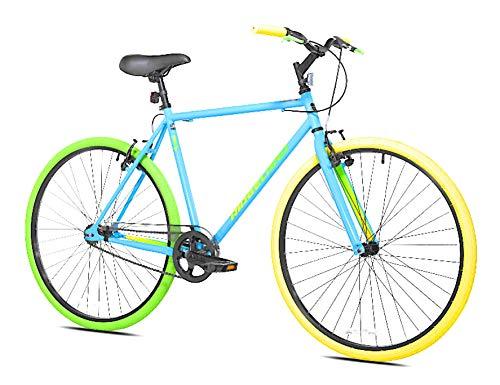 Kent 700c Men's Ridgeland Hybrid Bike Blue Green