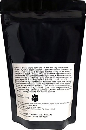 ALL Natural Diabetic TINY Dog Treats, 8 oz- Vet Approved