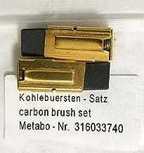 Authentique Original METABO Brosses Carbone Paire 316034960 pour BHE24 KHE24 Marteau rotatif M27D