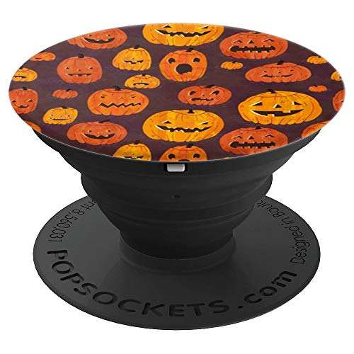 Halloween Jack-O-Lanterns PopSockets Grip and Stand for Phones and Tablets