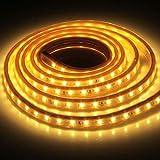 Iluminación AC 220V, 28.8W 144 LED SMD 5730 Cubierta IP65 Tira de luz LED impermeable con enchufe, 72 LED/m, longitud: 2 m...