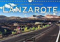 Idyllische Vulkaninsel Lanzarote (Wandkalender 2022 DIN A4 quer): Lanzarote: schroff und schoen zugleich (Monatskalender, 14 Seiten )