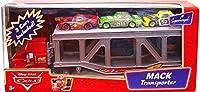 Disney Pixar Cars Mack Transporter Truck with Chick, Leakless & McQueen