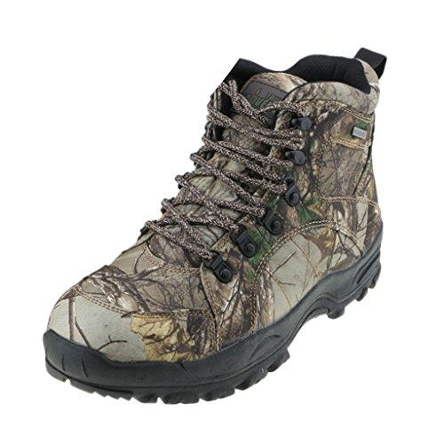 Baoblaze 2 Pedazos de Zapatos Botas de Montañismo Regalo para Deportista Ajustable Camuflaje