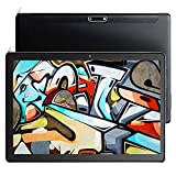 Tablet 10 inch Android 9.0 Tablets Octa-Core 32GB Storage Tablet Pie 1920x1200 FHD 5Ghz WiFi Tablets 5MP Rear Camera, Google Certified Black Tablet USB Type C Port