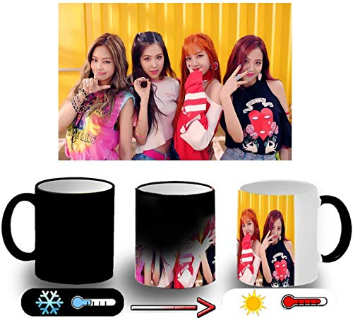 TusPersonalizables.com Taza MÁGICA Blackpink IN Your Area KPOP Magic mug