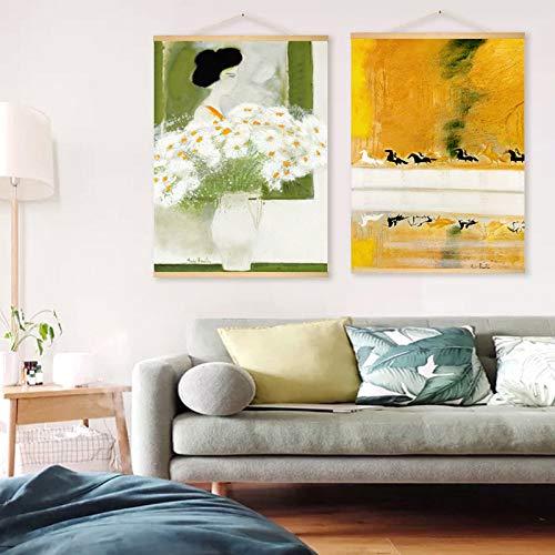 Bloem Decoratie Schilderijen Slaapkamer Schilderijen Moderne Bank Hangende Schilderijen 70 * 50cm C